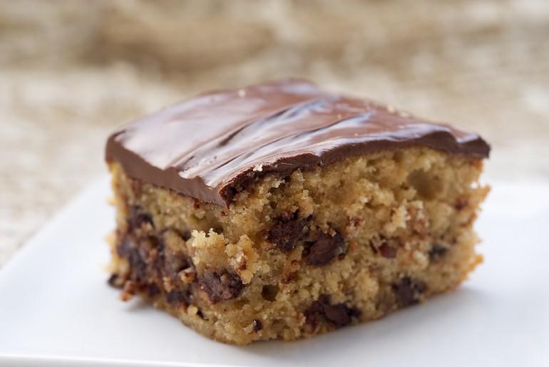 Chocolate Chip Snack Cake - Bake or Break