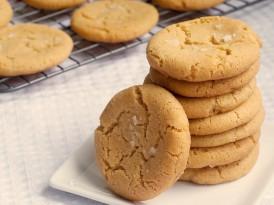 Browned Butter Salty Sugar Cookies