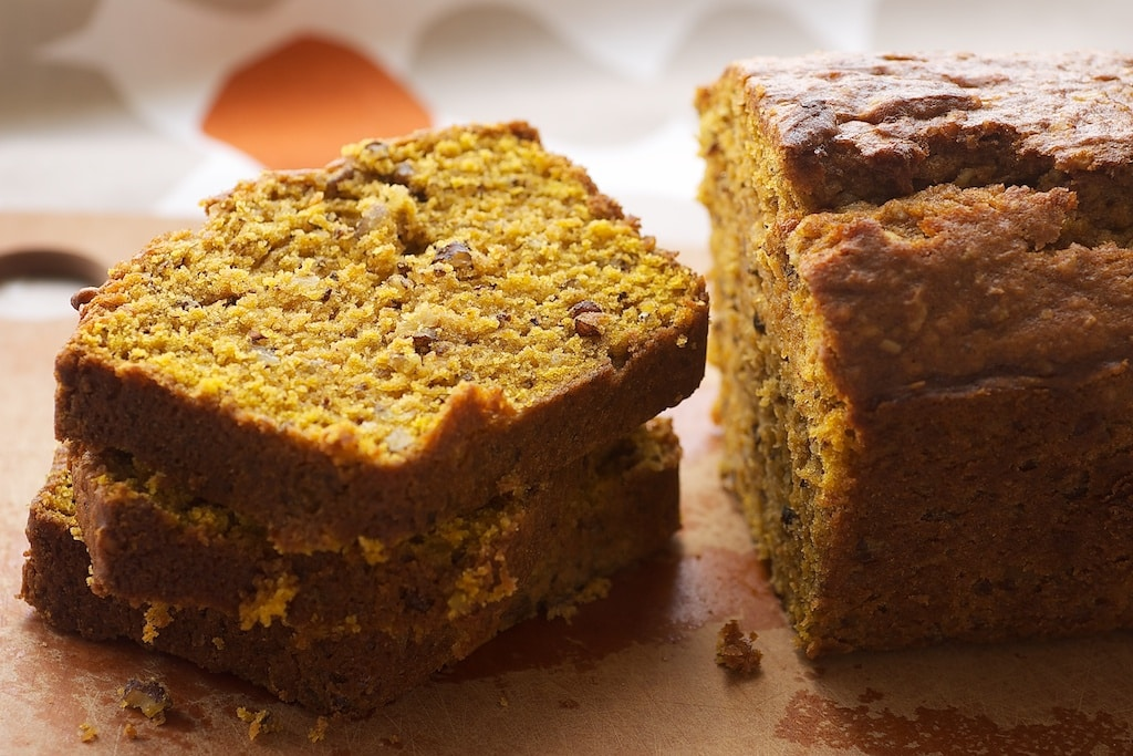 Pumpkin-Pecan Bread combines delicious fall flavors for an irresistibly delicious quick bread. - Bake or Break