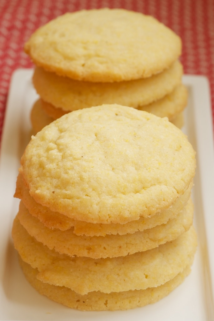 Cornmeal Cookies | Bake or Break