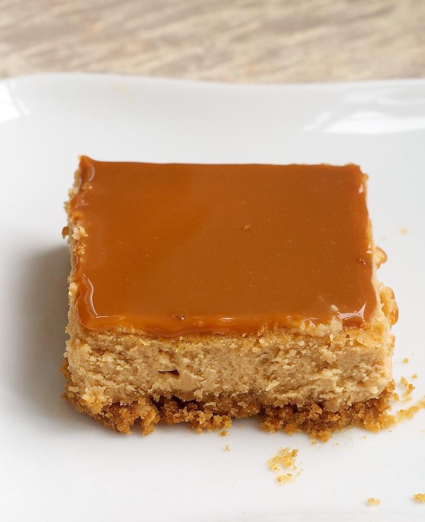 Dulce de Leche Cheesecake Bars | Bake or Break