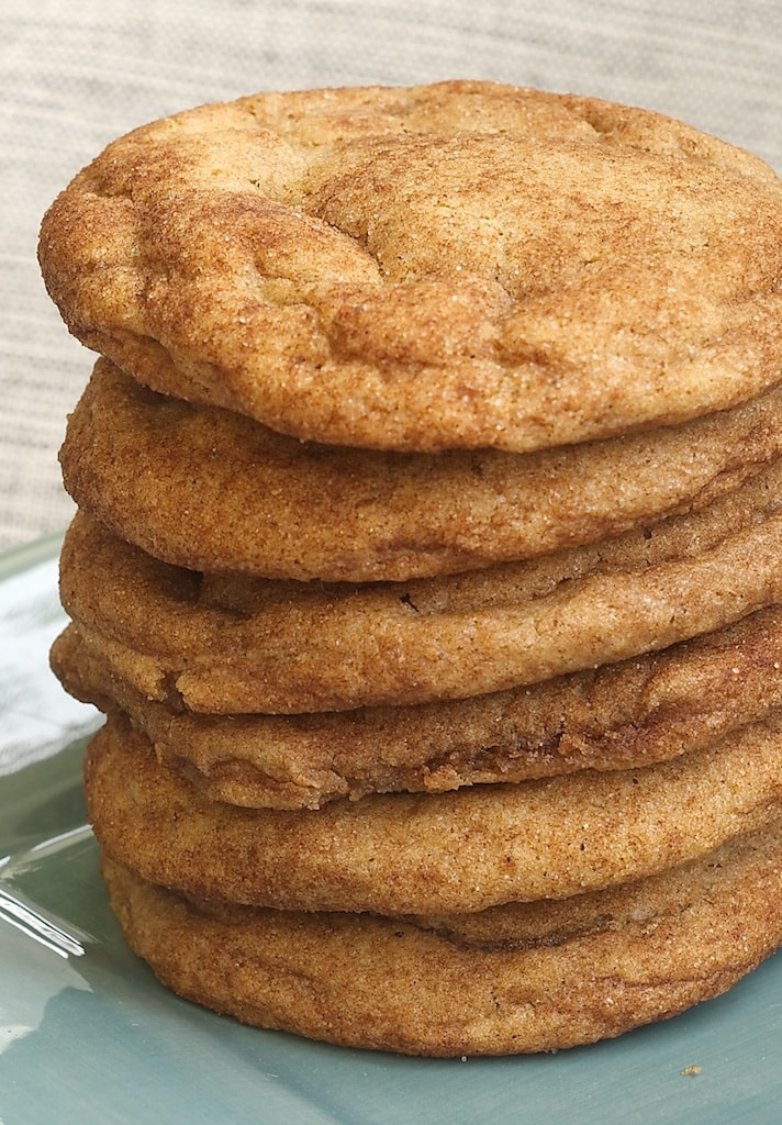 Brown Butter Snickerdoodles add a rich, nutty flavor to traditional Snickerdoodles. - Bake or Break