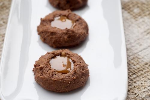 Turtle Cheesecake Thumbprint Cookies | Bake or Break