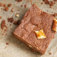 Peanut Butter-Pretzel Brownies | Bake or Break