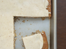 Banana Bars with Browned Butter Icing