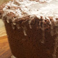 Chocolate Pound Cake with Vanilla Bean Glaze is simple to make and wonderfully delicious.