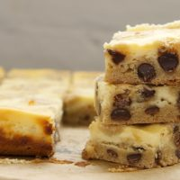 Chocolate Chip Cookie Cheesecake Bars | Bake or Break