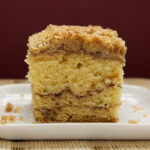 Sour Cream Coffee Cake with Chocolate Cinnamon Swirl