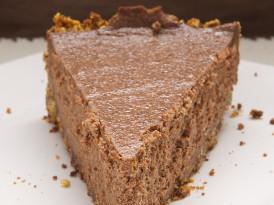 Black Hole Chocolate Cheesecake
