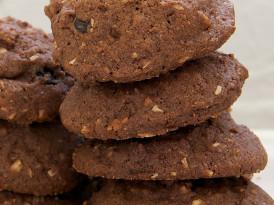 Cranberry-Coconut Chocolate Cookies