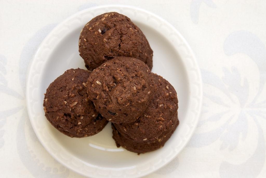 Coconut-Cranberry Chocolate Cookies | Bake or Break