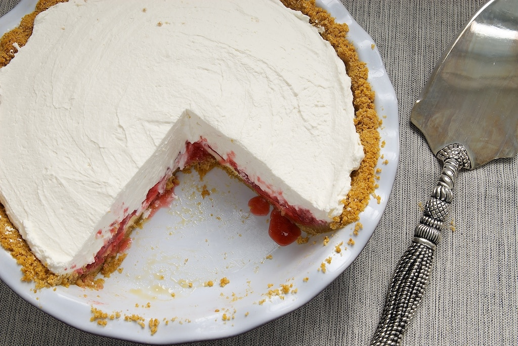 Strawberry Icebox Pie is a deliciously cool dessert featuring layer ...
