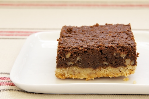 Pecan Shortbread Brownies | Bake or Break