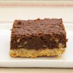 Pecan Shortbread Brownies