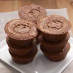 Chocolate Hazelnut Brownie Cups
