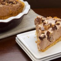 Chocolate-Peanut Butter Cup Icebox Pie | Bake or Break