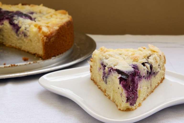 Blueberry Cream Cheese Coffee Cake - Bake or Break