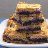 Blueberry Jam-Cream Cheese Bars | Bake or Break