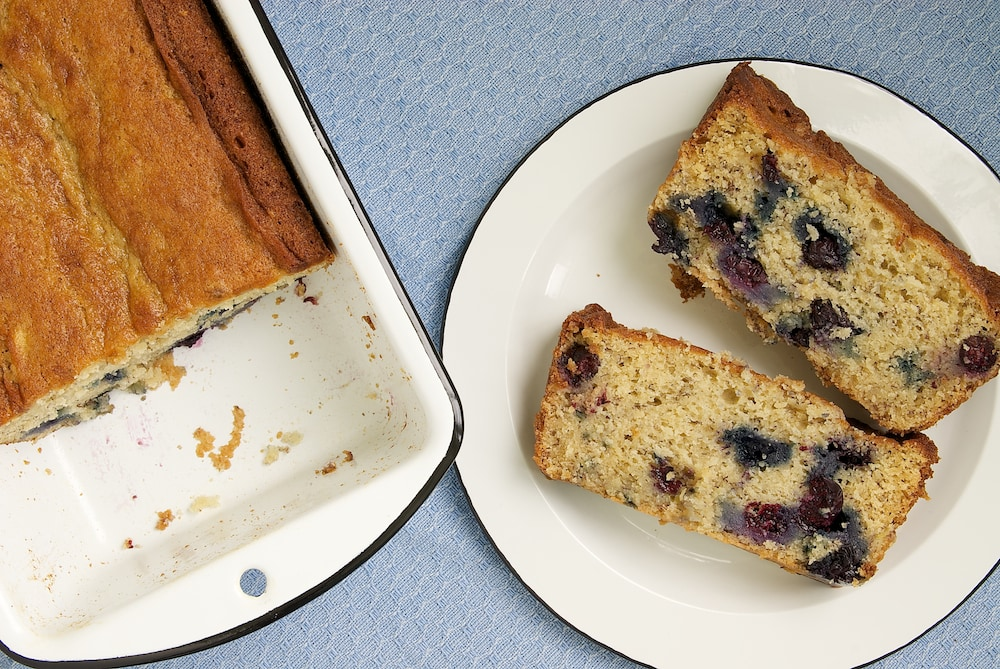 Blueberry Banana Bread | Bake or Break