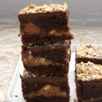 Caramel Pecan Brownies | Bake or Break