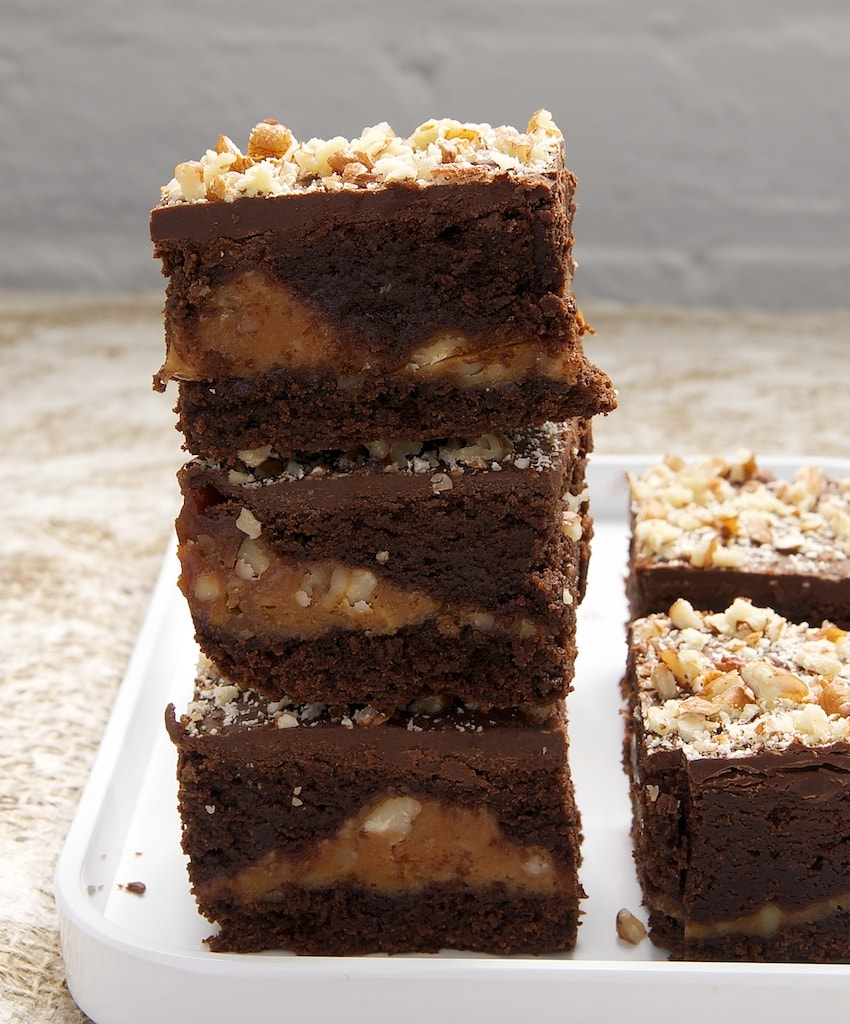 Caramel Pecan Brownies | Bake or Break