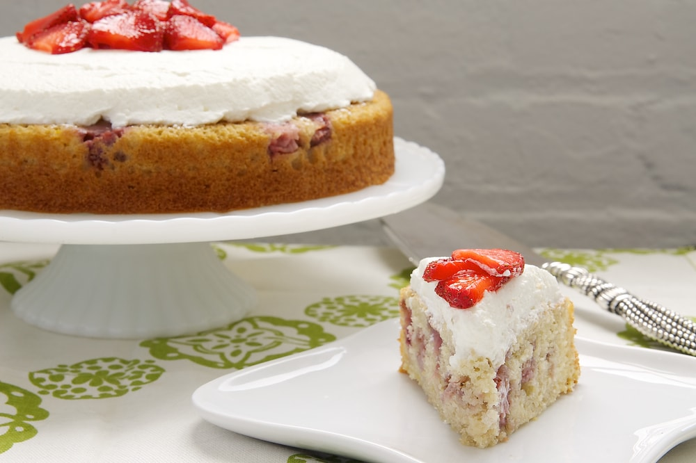 Lemon Strawberry Shortcake | Bake or Break