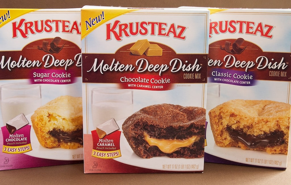 Krusteaz Molten Deep Dish Cookies Mixes Giveaway | Bake or Break