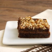 Chocolate-Caramel Pudding Bars | Bake or Break