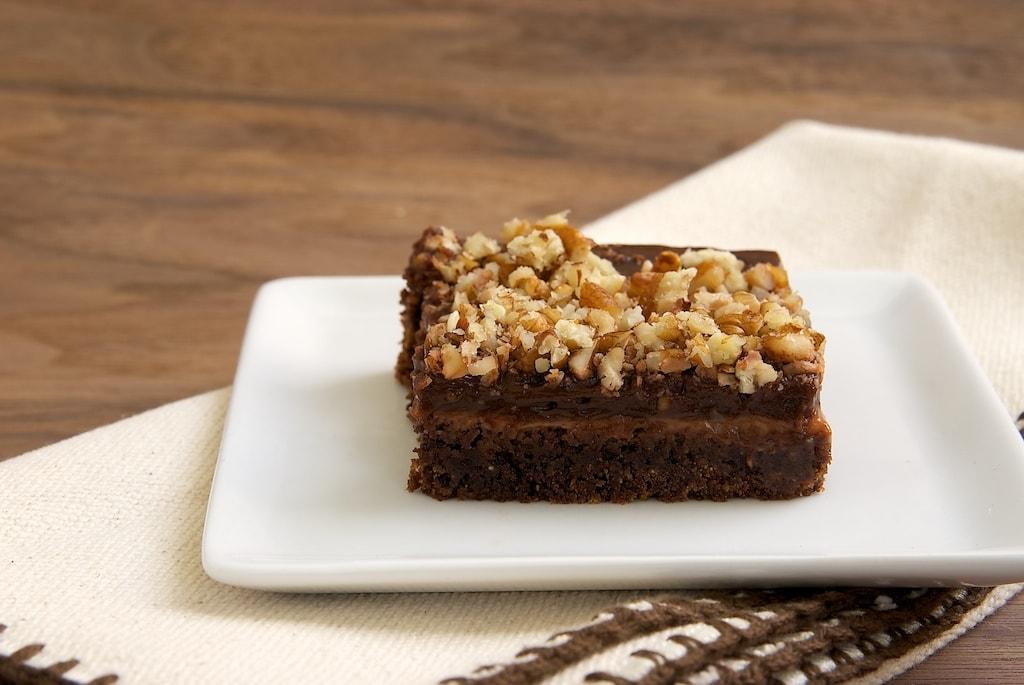 Chocolate-Caramel Pudding Bars | Bake or Break