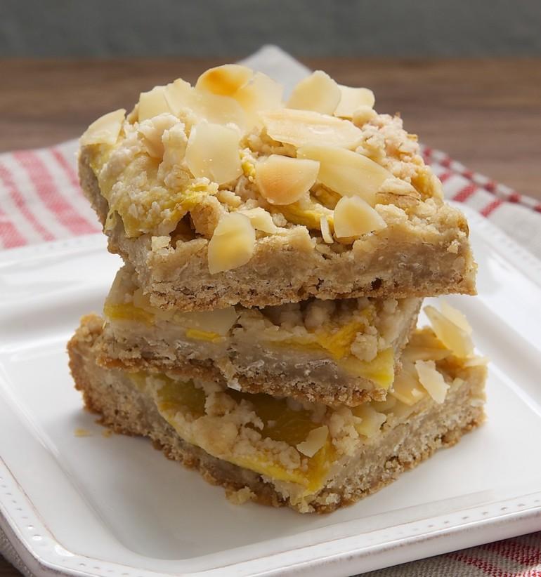 Peach Crumble Bars - Bake or Break