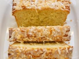 Coconut Buttermilk Pound Cake