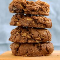 Chocolate Peanut Butter Granola Cookies | Bake or Break