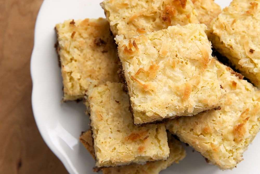 Coconut Bars with Chocolate Shortbread Crust | Bake or Break