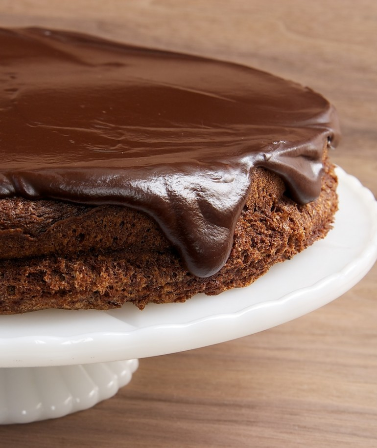 Flourless Chocolate Cake with Chocolate Ganache - Bake or Break
