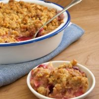 Pear and Plum Crisp | Bake or Break