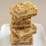 Cinnamon Oatmeal Cream Cheese Bars
