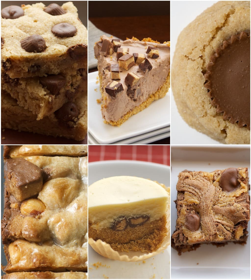 6 Favorite Baking Recipes with Peanut Butter Cups | Bake or Break