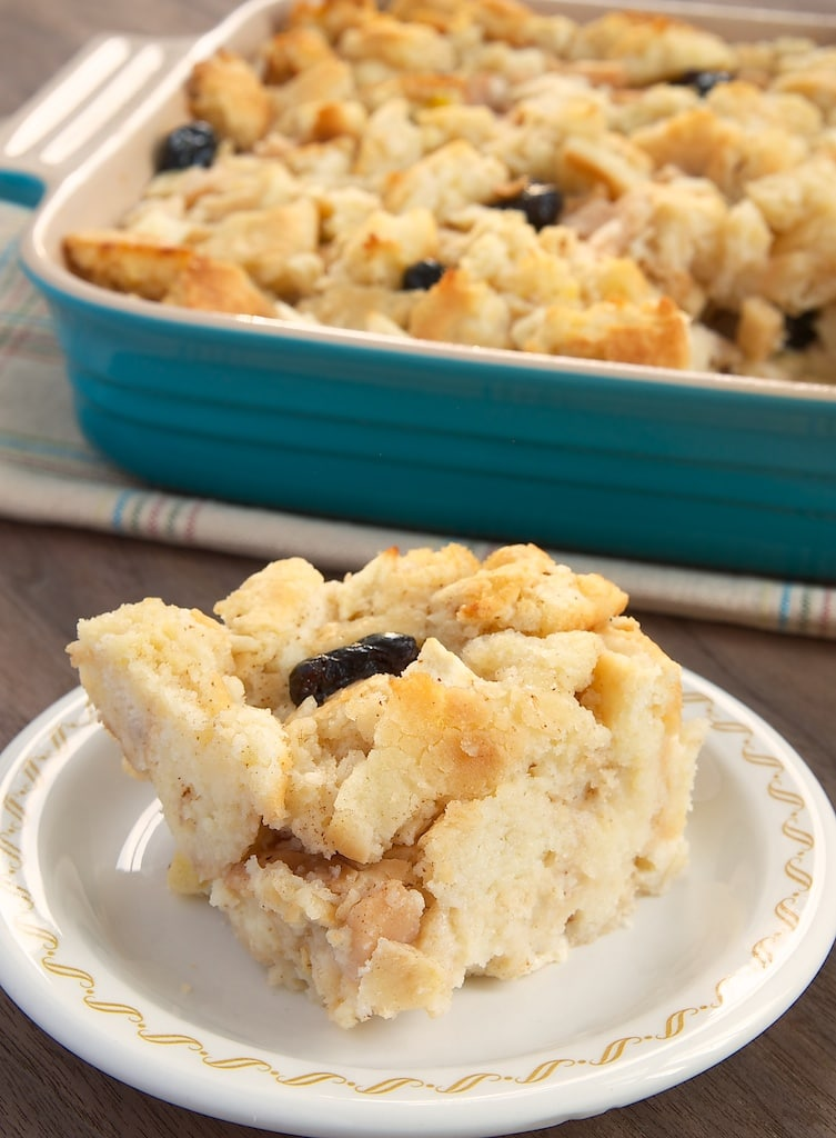 Biscuits offer a unique twist on bread pudding. Perfect for everything from breakfast to dessert!