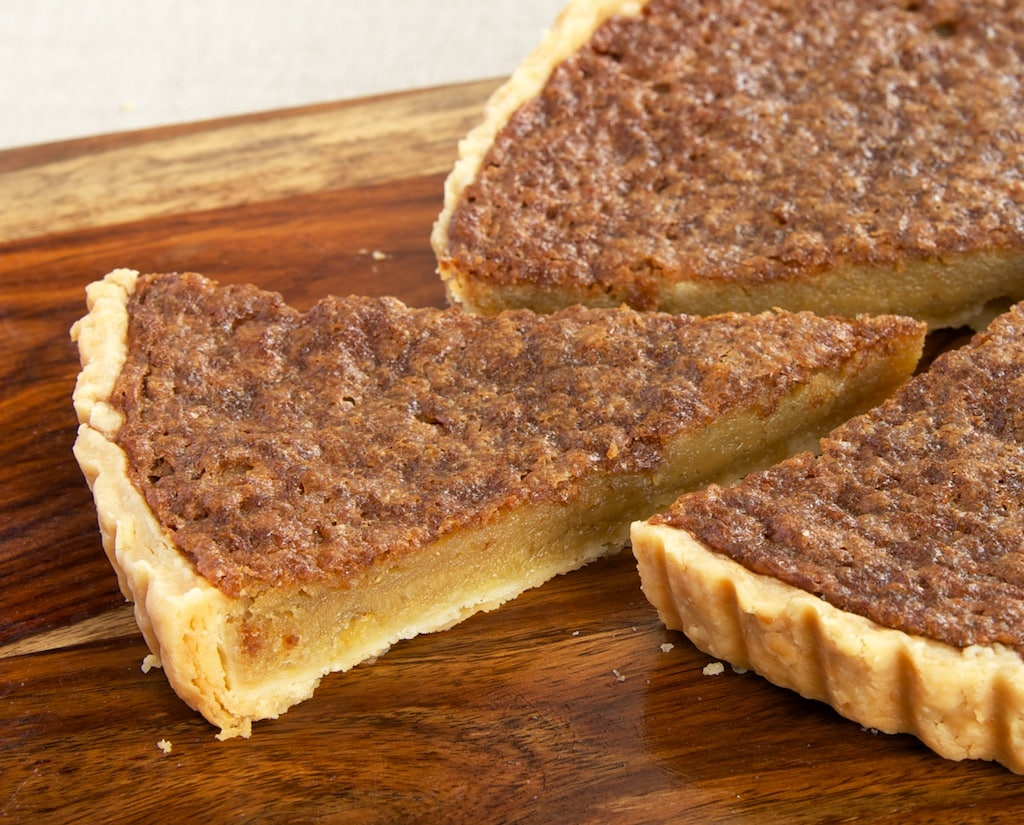 Caramel Chess Tart takes traditional chess pie and adds a bit of caramel flavor for a fantastic, simple, delicious dessert. - Bake or Break