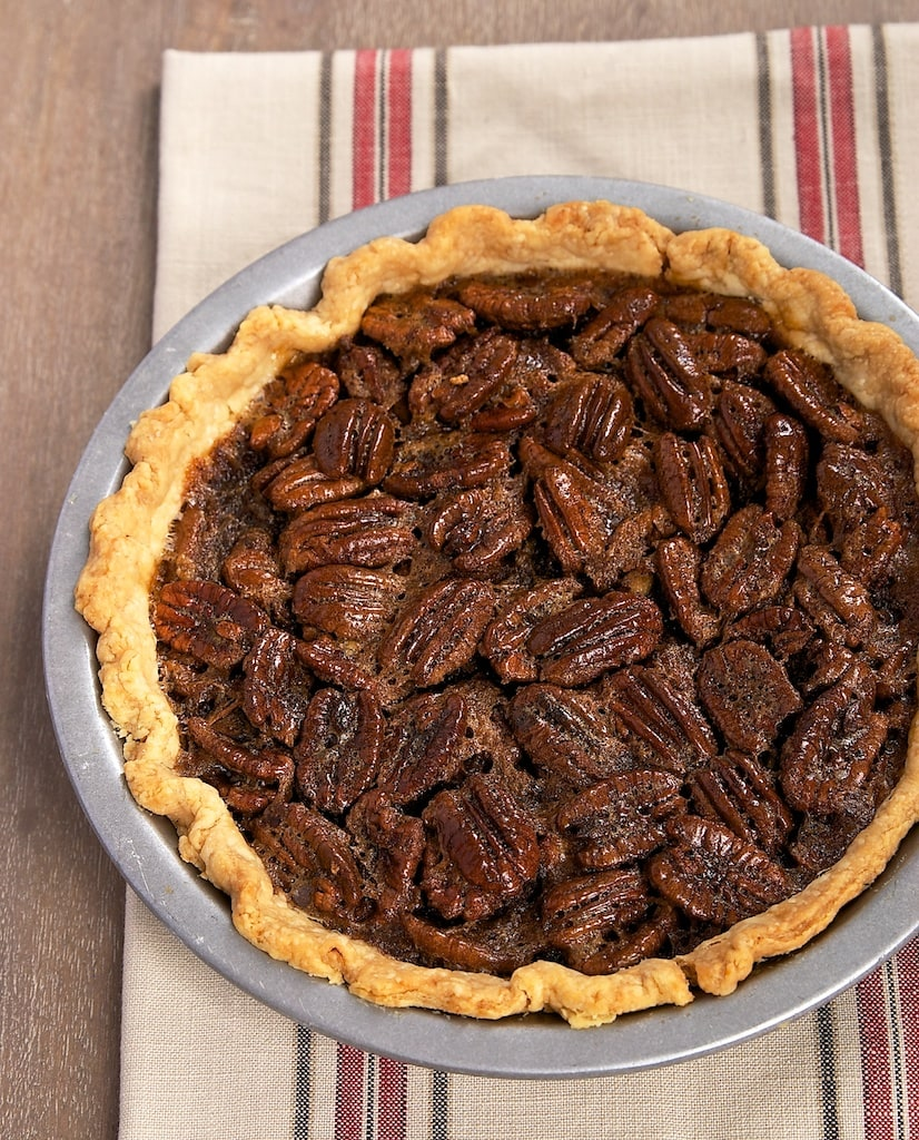 Brown butter adds big flavor to a classic dessert with Brown Butter Pecan Pie.
