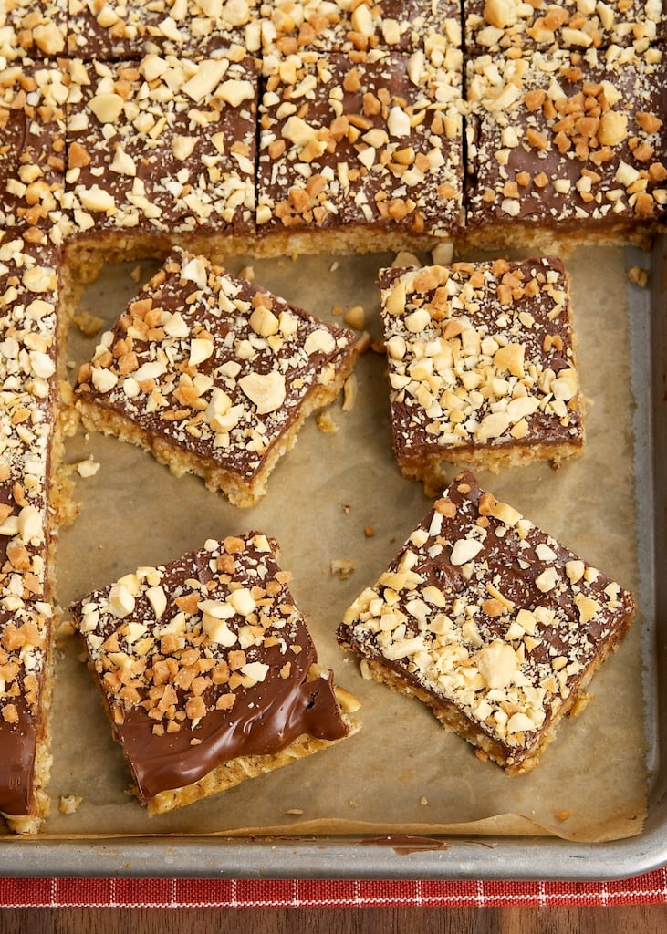 Peanut Butter-Chocolate-Oatmeal Cereal Bars | Bake or Break