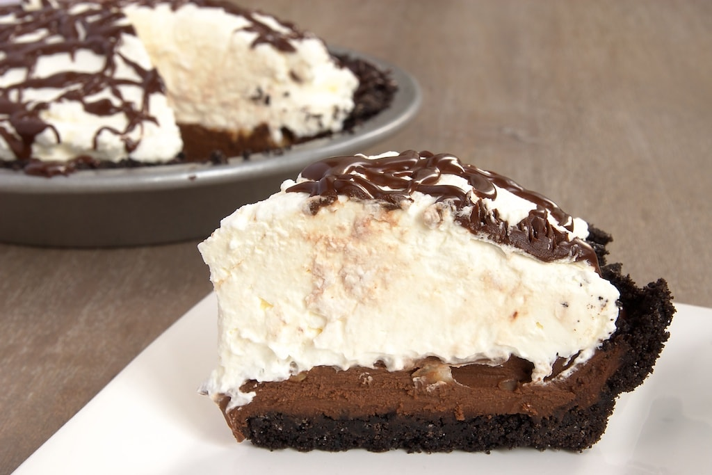 Chocolate Hazelnut Black-Bottom Pie | Bake or Break