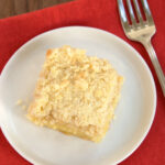 Lemon Yogurt Crumb Cake
