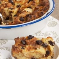 Chocolate Croissant Bread Pudding | Bake or Break