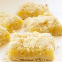 Lemon Almond Crumb Bars | Bake or Break
