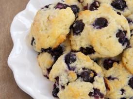 Blueberry Shortcake Cookies