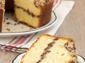 Chocolate Chip Crumb Pound Cake