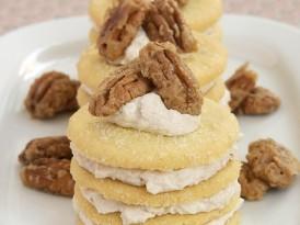 Cinnamon-Shortbread Icebox Cookie Stacks