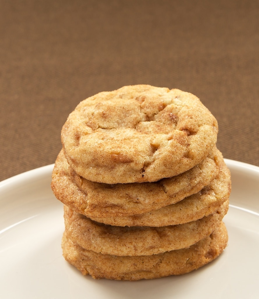 Toffee-Pecan Snickerdoodles are a delicious twist on traditional Snickerdoodles!