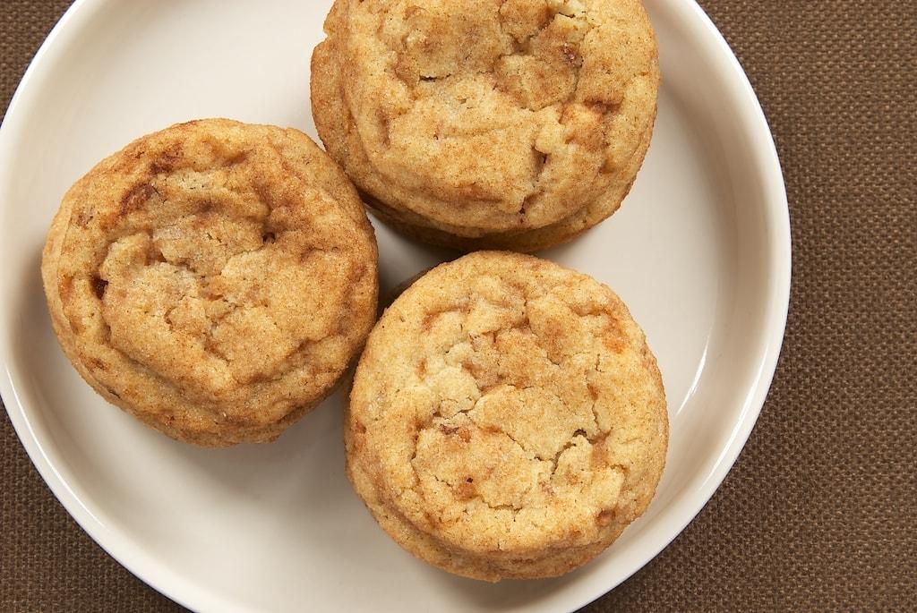 Toffee-Pecan Snickerdoodles | Bake or Break